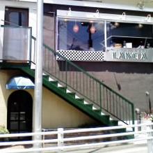 レーシック眼科の給湯室-ランチア階段